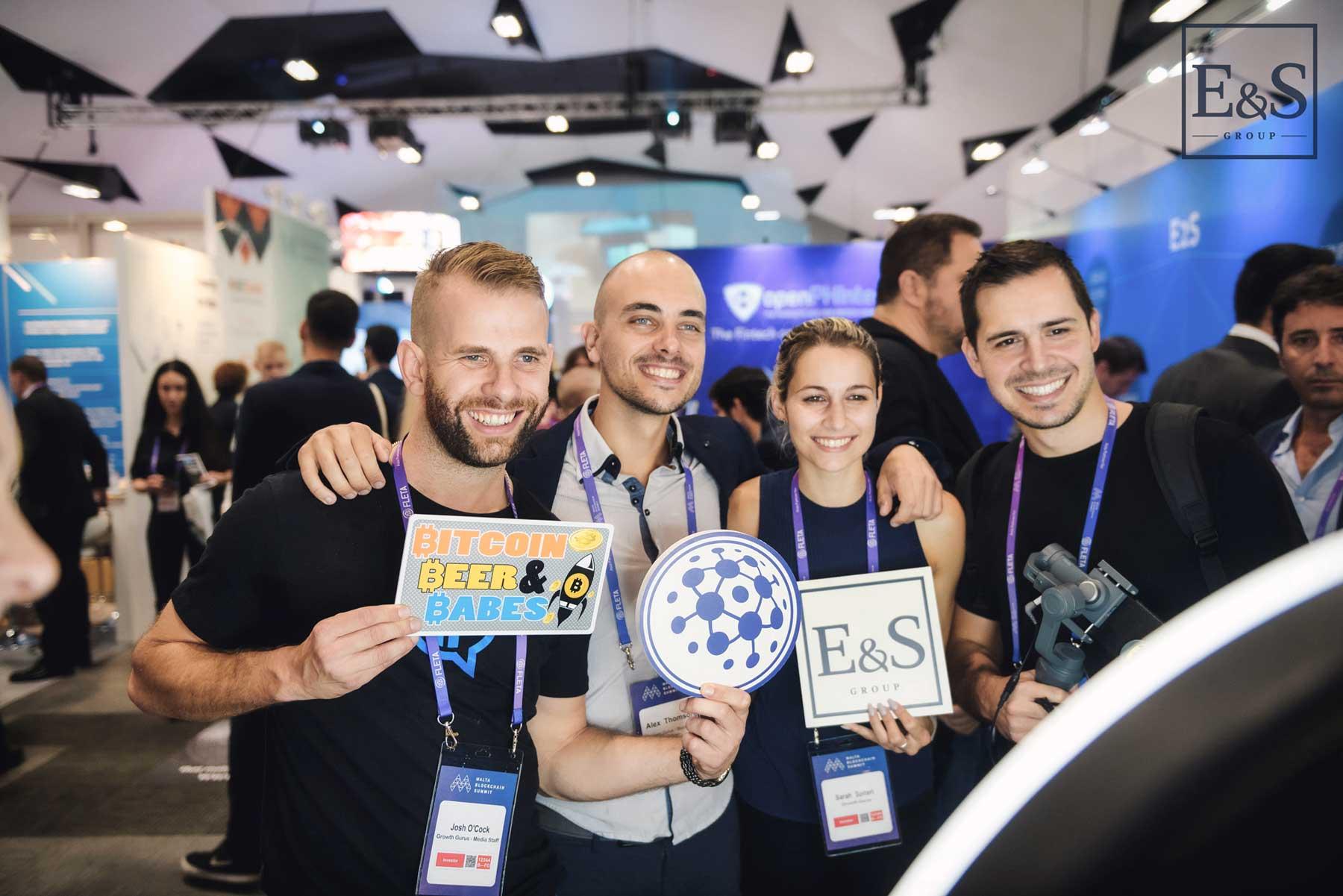 Growth Gurus E_S Malta Blockchain-Summit